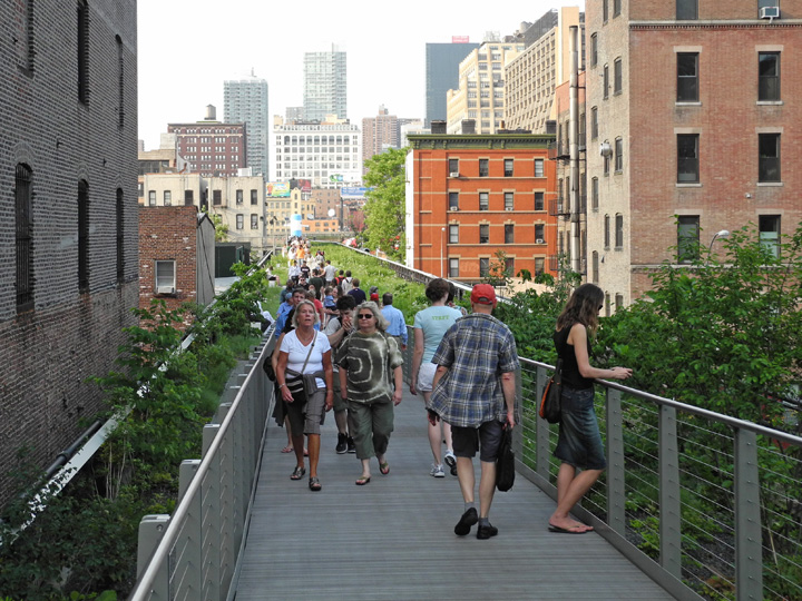 The High Line - New York // © Sarah Geßner