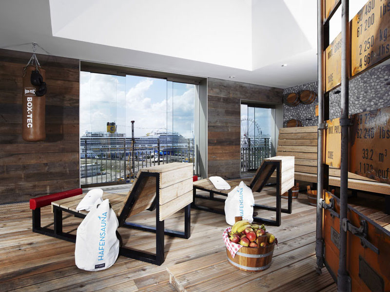 25hours hotel hafencity hamburg cool places for Coole hotels in hamburg