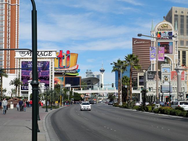 Der Strip oder Las Vegas Boulevard // © Sarah Geßner