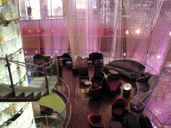 The Chandelier Bar im Cosmopolitan Hotel - Las Vegas // © Sarah Geßner