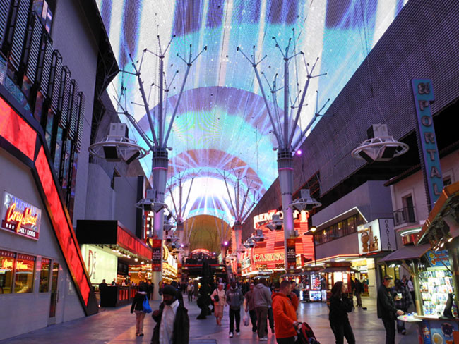 Fremont Street Experience - Las Vegas // © Sarah Geßner
