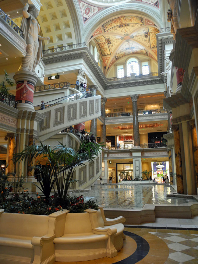 The Forum Shops - Las Vegas // © Sarah Geßner