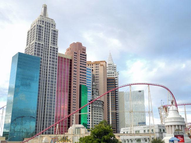 New York New York Hotel & Casino - Las Vegas // © Sarah Geßner