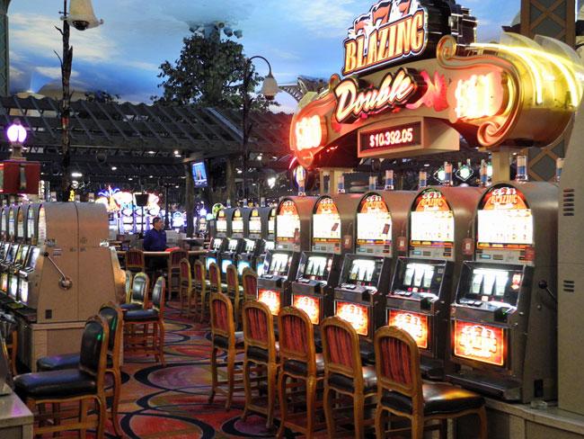 Gambling im Paris Hotel - Las Vegas // © Sarah Geßner