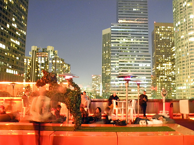 The Rooftop at The Standard - Los Angeles // ©Sarah Geßner