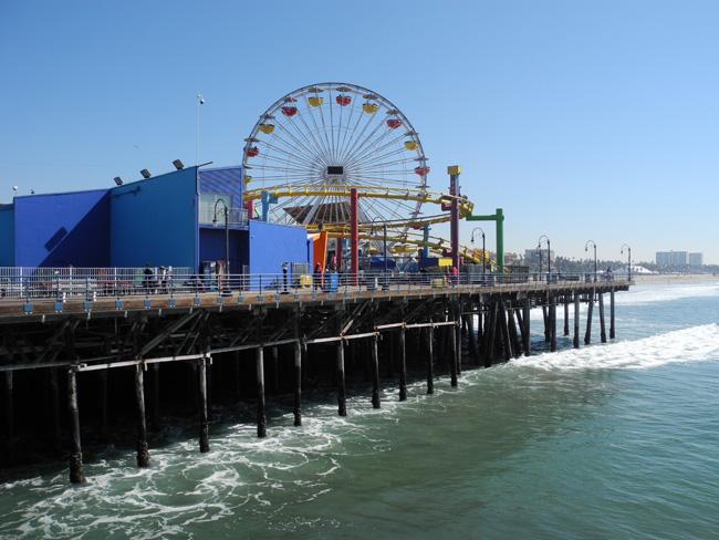 Santa Monica Pier // © Sarah Geßner