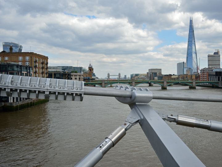 Millennium Bridge - 48 Stunden in London // © Sarah Gessner